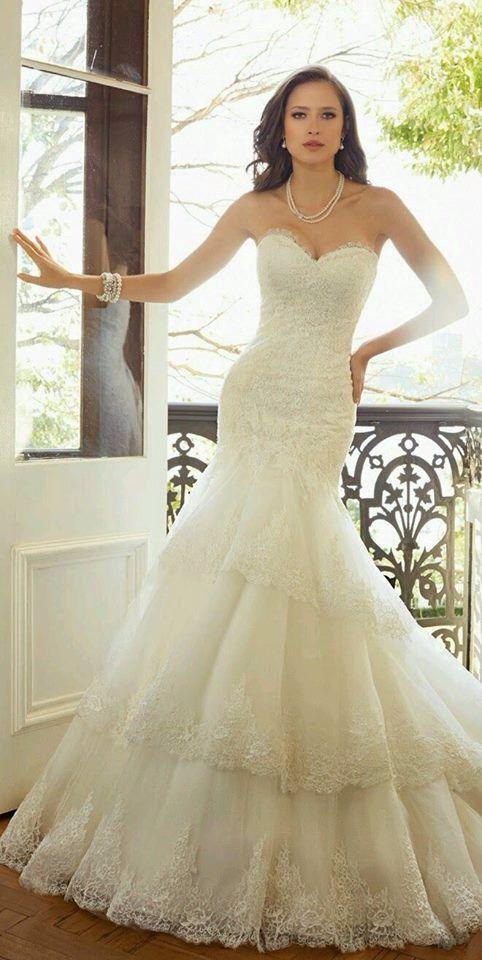 Sophia Tolli 2015 Bridal Collection   Novias   Pinterest   Vestidos ...