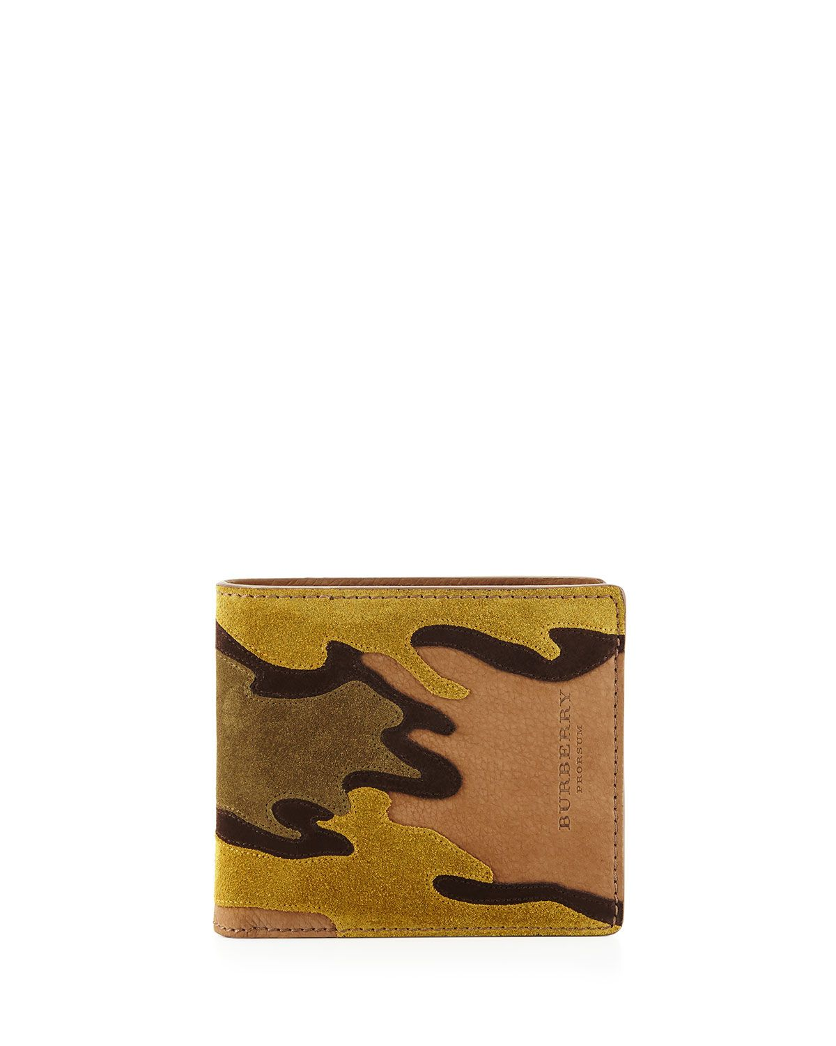 Camouflage Suede Bi Fold Wallet Camouflage Top Designers And Free