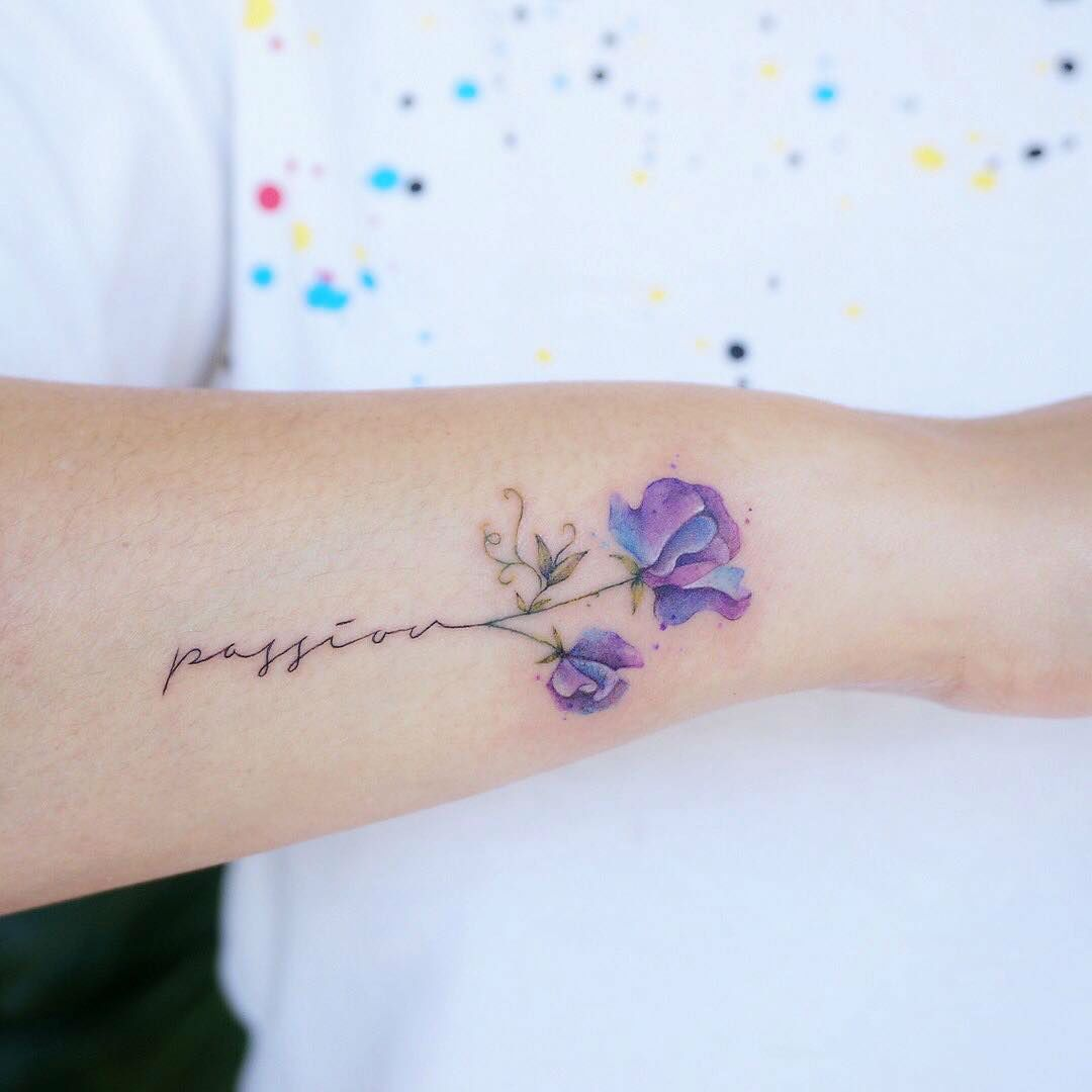 17 Fine Line Pastel Tattoos By G No Pastel Tattoo Fine Line