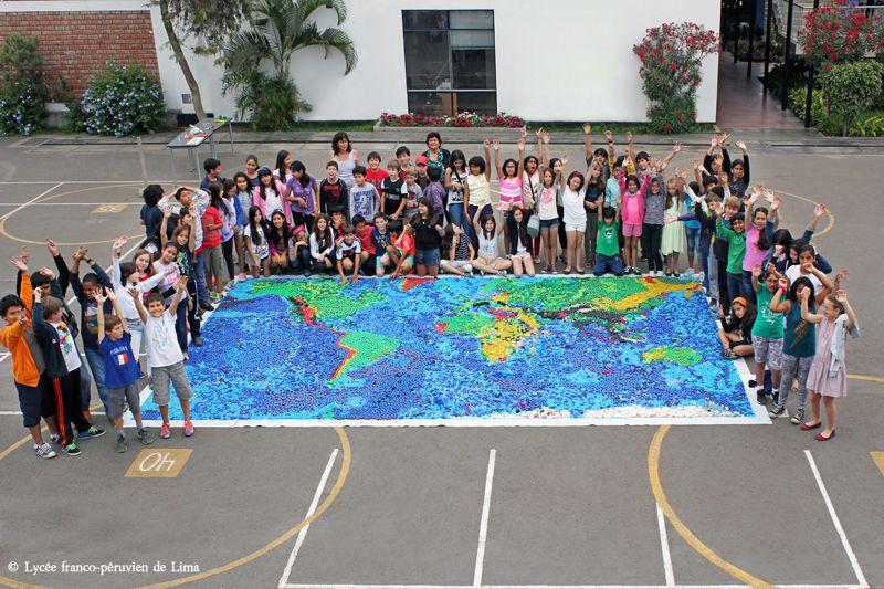 Art recycable - Lycée franco-péruvien de Lima (Pérou) | Lycée ...