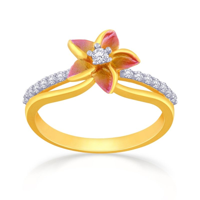 Malabar Gold Ring FRJOAE0048 | Jewels | Jewelry, Gold ...