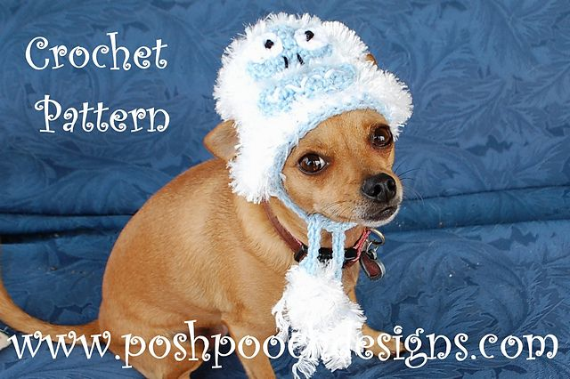 c36577c07b2 Ravelry  Abominable Snowman Dog Hat pattern by Sara Sach