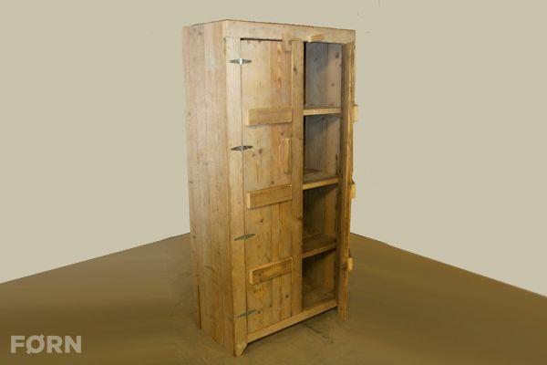 Unieke steigerhouten kledingkast je kunt kiezen uit een kast