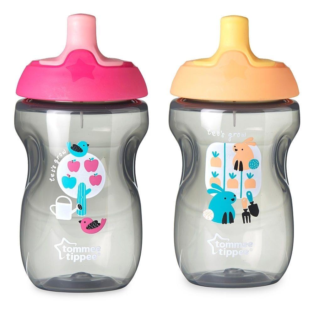 Tommee Tippee Pink/ 10-ounce Sportee Bottles