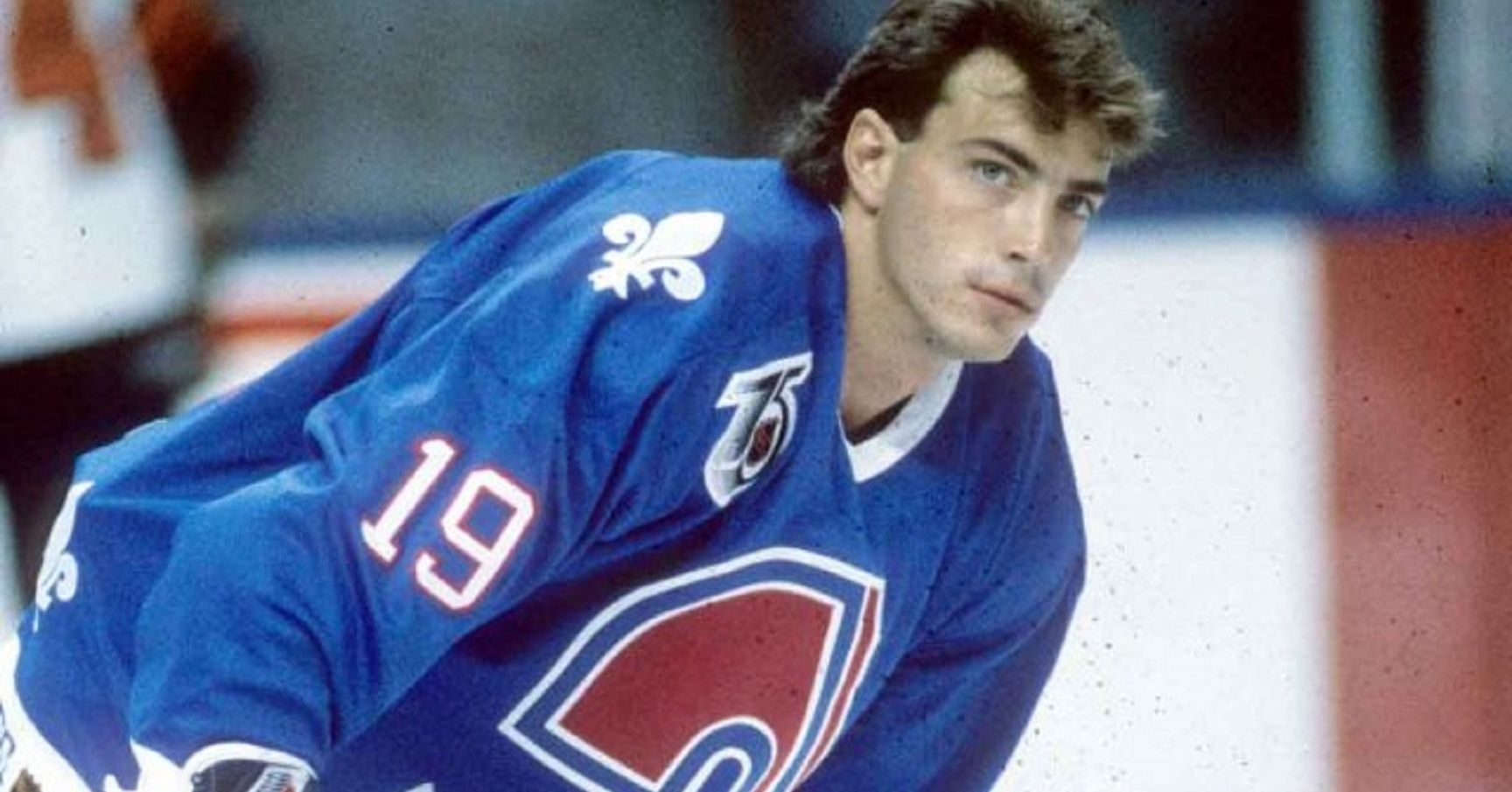 A Young Joe Sakic Still On The Nordiques Before He Was