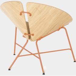 Photo of Tabanda Ginka Armchair with seat and back cushion dusty clay Tabanda
