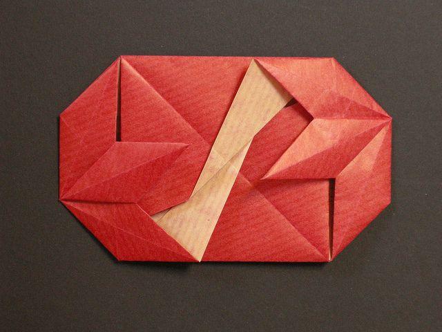 double fleur de lys envelope origami envelopes letter folding origami fleur de lys e lys. Black Bedroom Furniture Sets. Home Design Ideas
