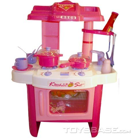 Hot Item Kids Plastic Toy Kitchen Set Kitchenware Playset Children Anh80936