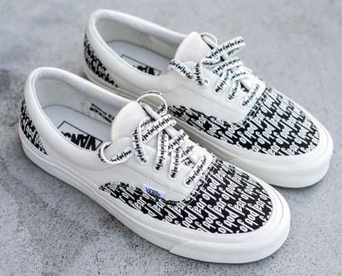 Fear of God x Vans #sneakers
