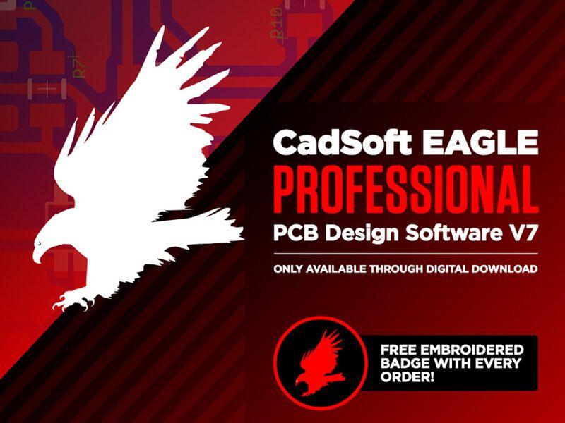 تحميل عملاق تصميم الدوائر الإلكترونية CadSoft Eagle Professional 7.6 ...