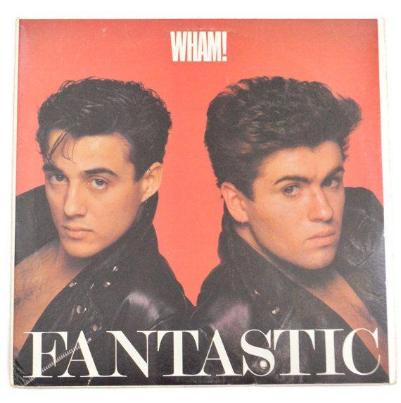 Vintage 80s Wham Fantastic Album Record Vinyl Lp George Michael George Michael Wham Bad Boys