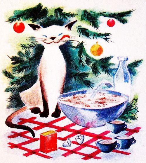 Eggnog Cat