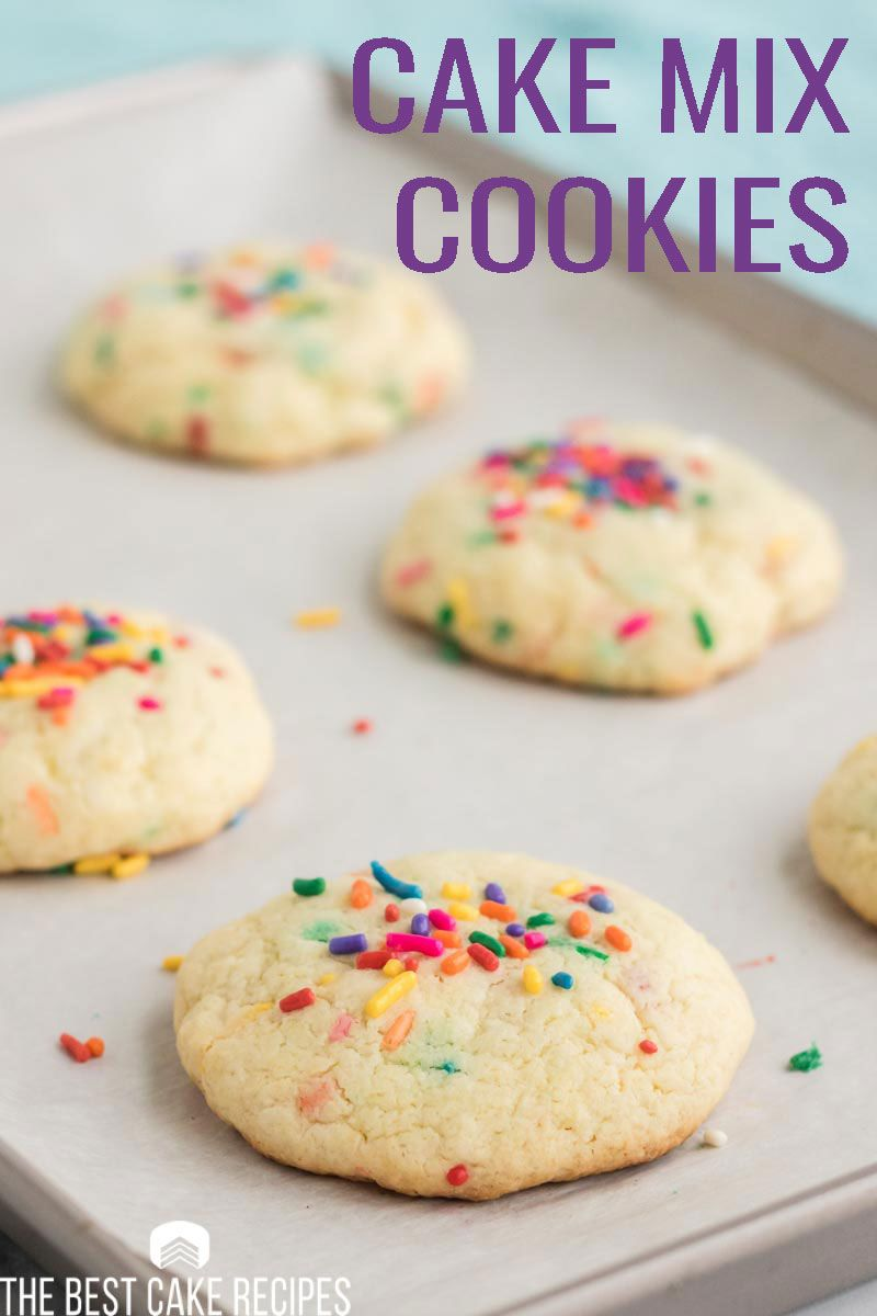 Make cookies from cake mix! in 2020 Cake mix cookies