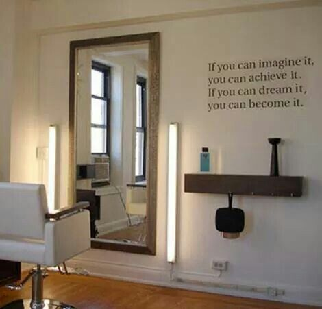 In Home Salon My Salon One Day Pinterest Salons Home Salon