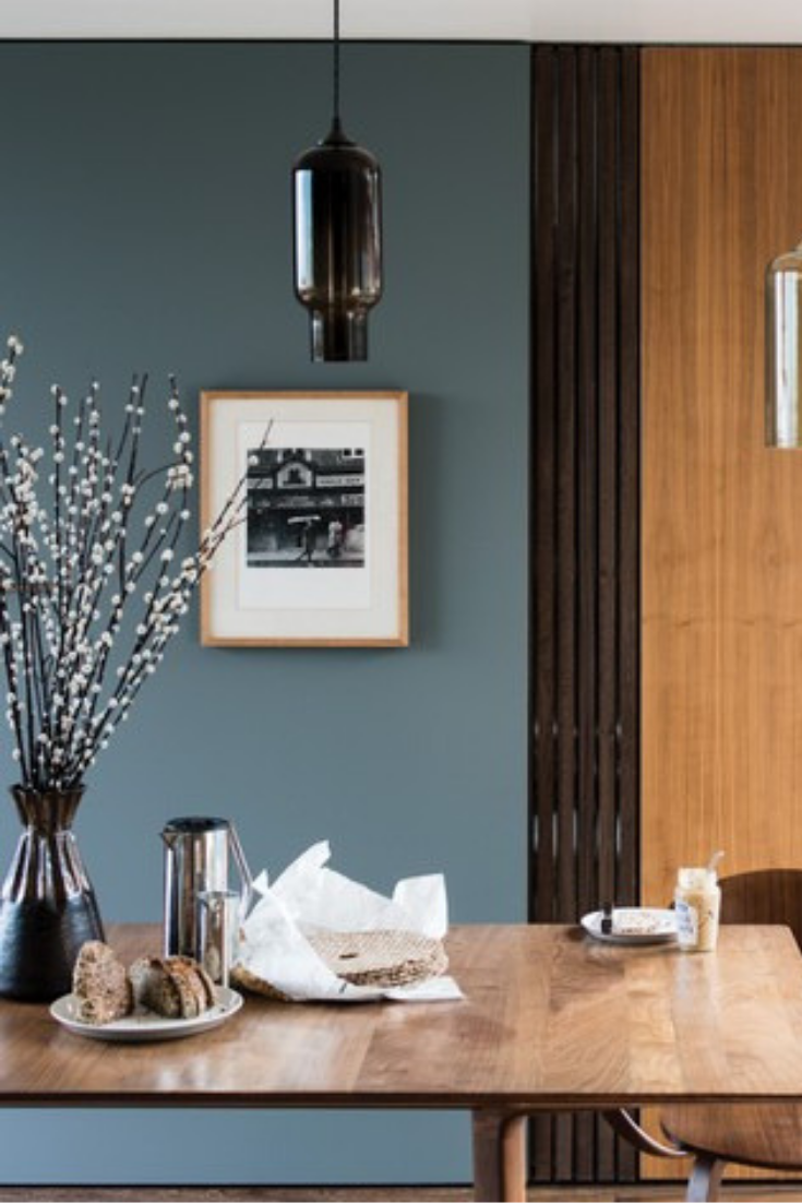 De Nimes 299 0 1 L Estate Emulsion By Farrow Amp Ball In 2019 Blue Kitchen Decor Living Room