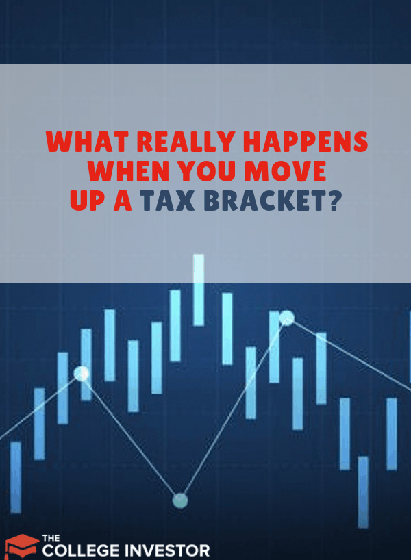 What Really Happens When You Move Up A Tax Bracket Tax Brackets Finance Blog Personal Finance Blogs