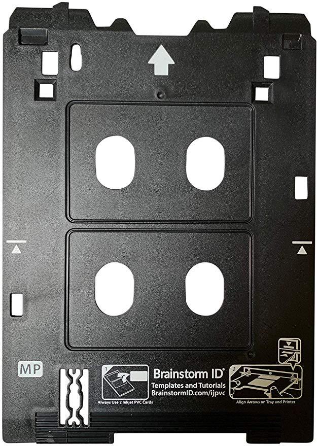 Amazon Com Inkjet Pvc Card Tray For Canon Pixma Ts82xx And Ts95xx Series Printers Canon Mp Multi Purpose Tray Printers By Brains Card Printer Inkjet Printer