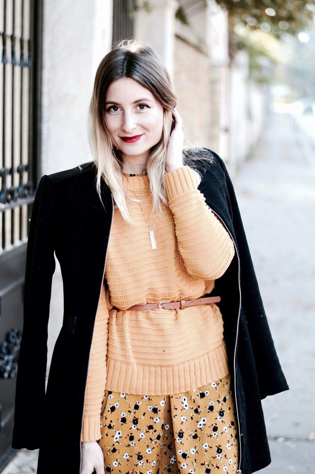 353501e1988cf Du jaune moutarde en automne !   Pinterest   Moutarde, Jaune et Robe ...