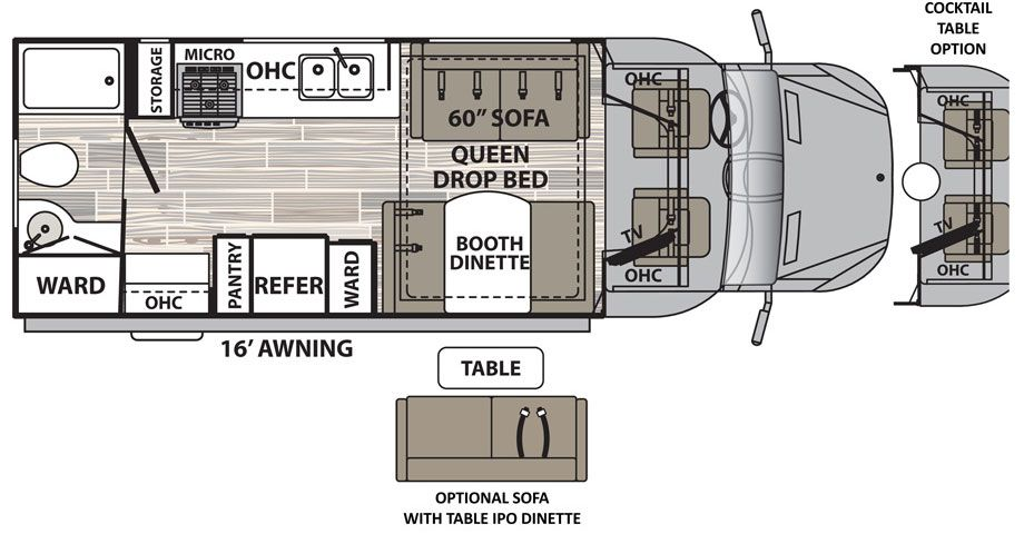 Isata 3 24RB Class C Motorhomes by Dynamax   T-RV   Class c