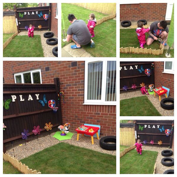 Phoebe's Toddler Garden. Going to plant some flowers, shrubs and herbs for cooking  #toddler #garden #baby #summer #play #learning