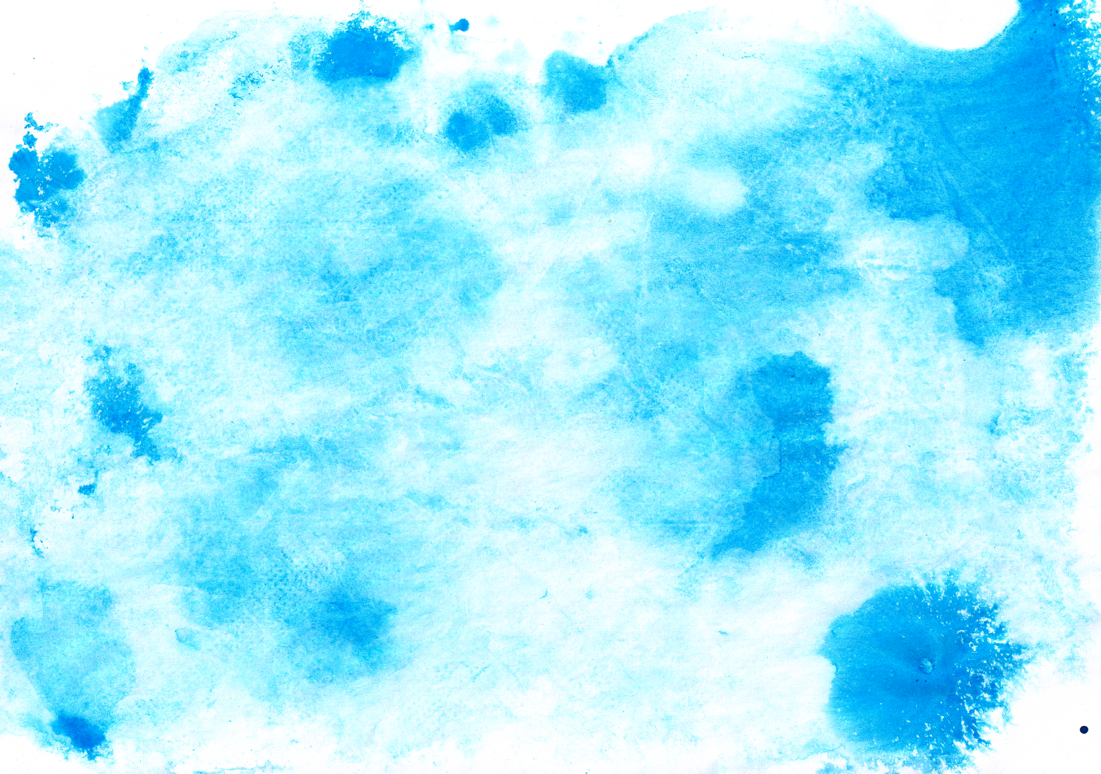 Free illustration watercolor pigment color free image - 4 Grungy Bright Colored Blue Watercolor On Napkin Textures Reusage