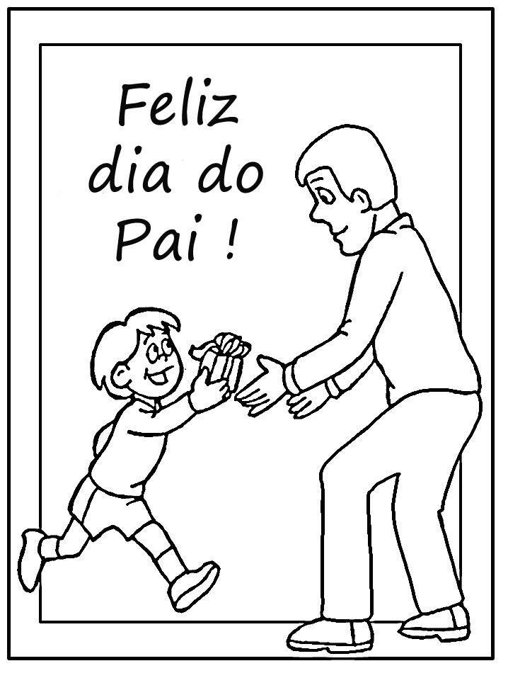 Atividades Do Dia Dos Pais Para Colorir Feliz Dia Dos Pais Filho