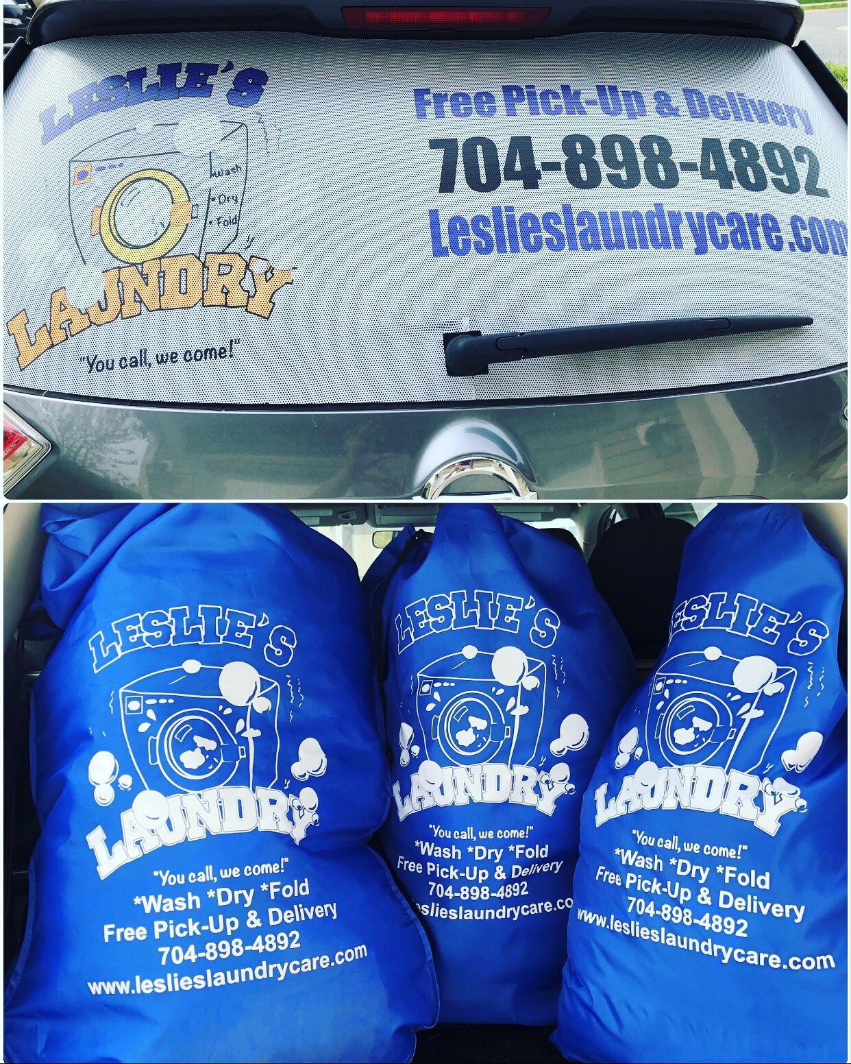 Full service mobile Laundry and Dry Cleaner right to your