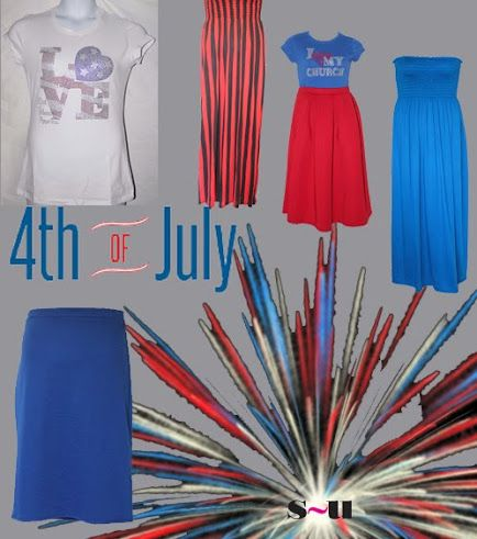 4th of July - Red White and Blue