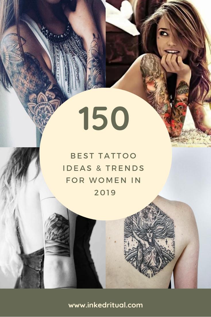 Free Book 150 Best Tattoo Ideas Trends For Women In 2019 Cool Tattoos Female Tattoo Women