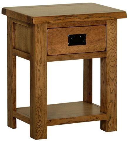 0c59fc80d81e Devonshire Rustic Oak Bedside Table | Devonshire Rustic Oak ...