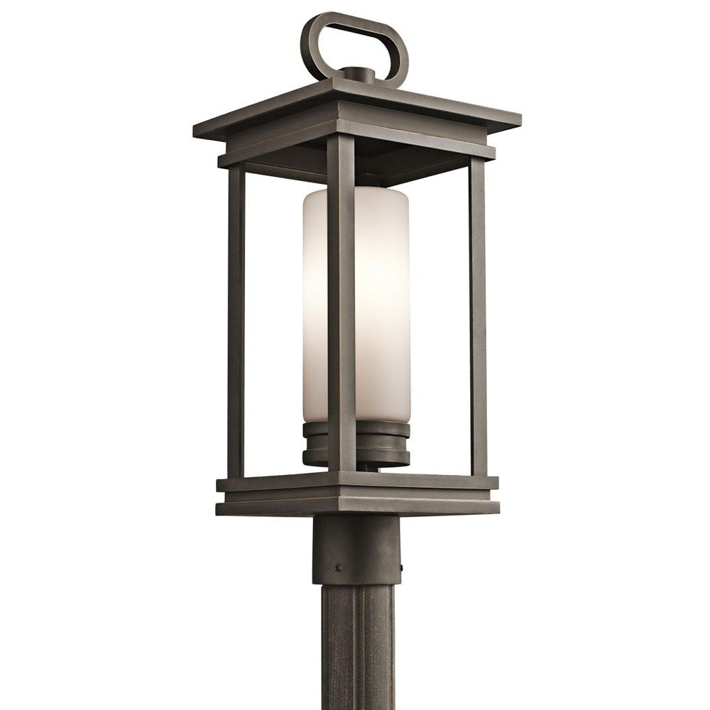 Kichler lighting south hope outdoor 1 light post mount lighting kichler lighting south hope outdoor 1 light post mount aloadofball Gallery