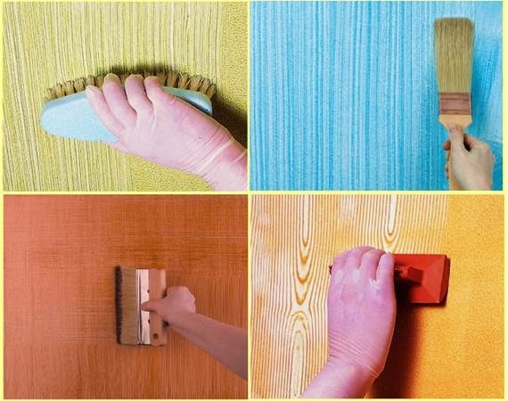 Creative wall painting 5 how to paint walls in creative ways diy pinterest creative wall - Simple design of wall ...