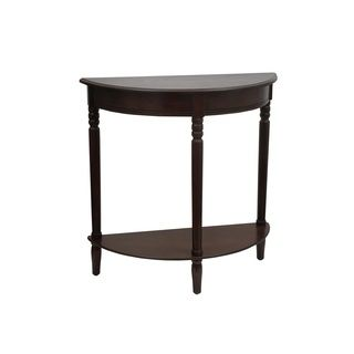 147 Wood 31 Inch Half Round Console Table China