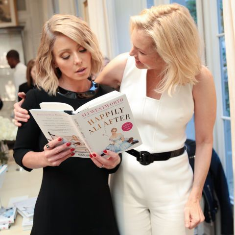 Kelly Ripa and Ali Wentworth. See all the other celebs on the June party scene.