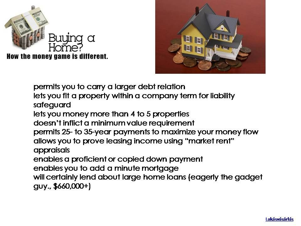 Most lenders prohibit you against owning and/or funding an