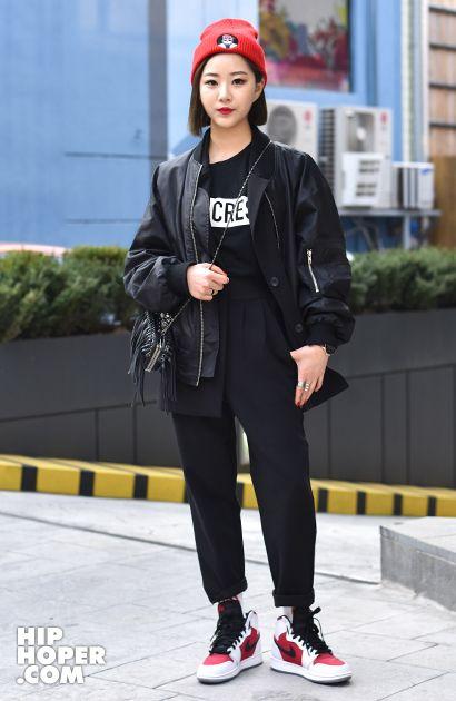 최은하 > Street Fashion   힙합퍼