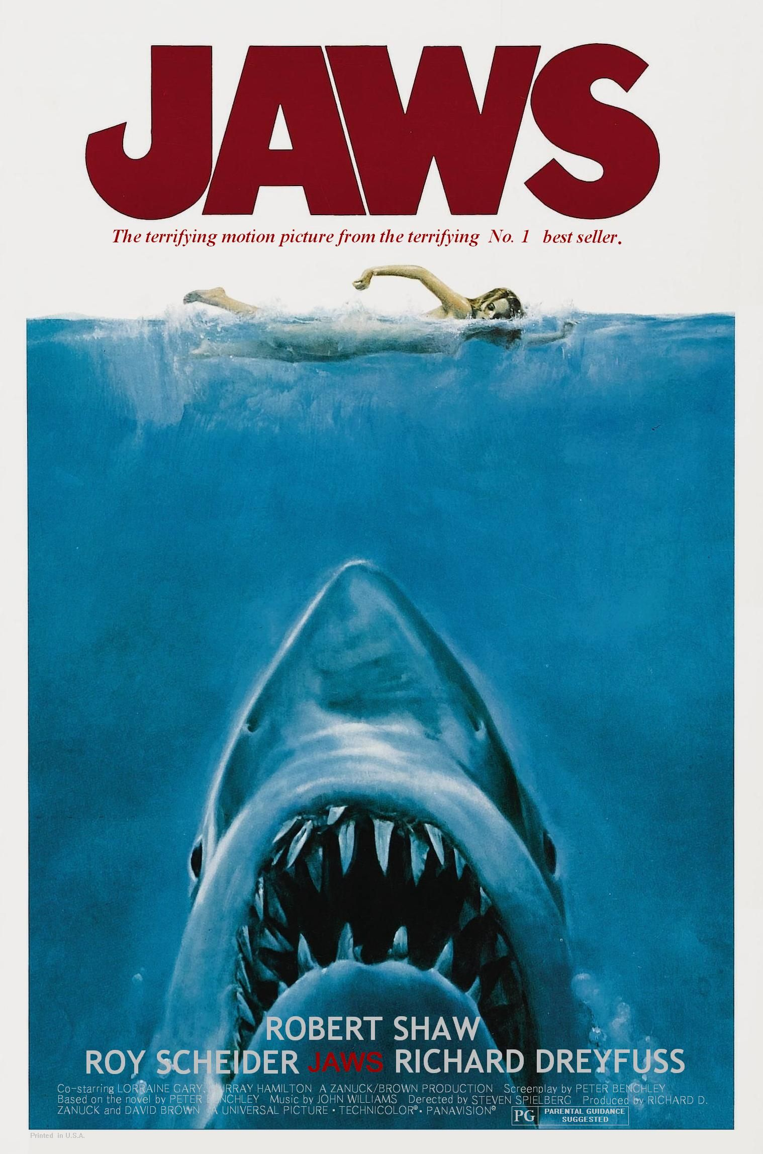Pin By Martin On Jaws Comic Movies Movie Posters Vintage Jaws Movie Poster