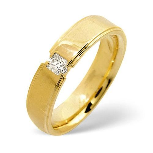 engagement rings yellow gold with 1 ct diamond 49 - Indian Wedding Rings