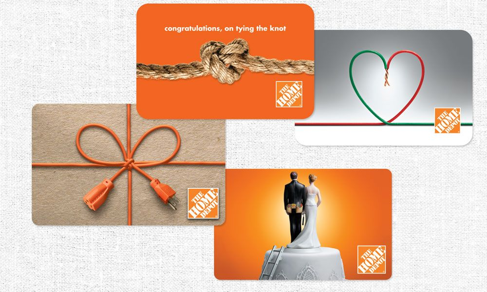The Home Depot Gift Card Design | MSI U2013 A Marketing Communications .