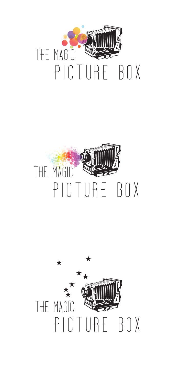 love creating this new logo design for THE MAGIC PHOTO BOX tea ...
