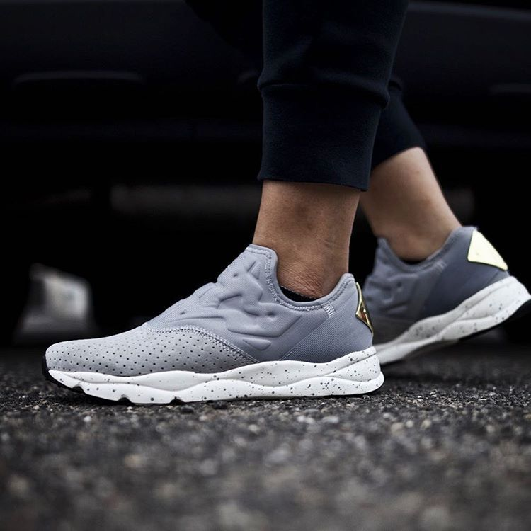 Fashion · Reebok Women's FuryLite Slip-On Lux ...