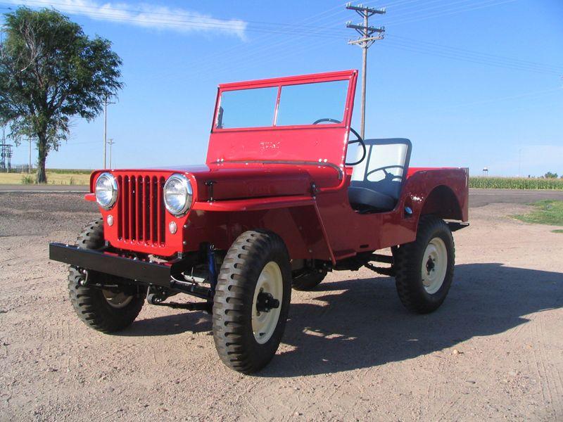 1948 Willys Jeep Cj2a Willys Jeep Willys Vintage Jeep