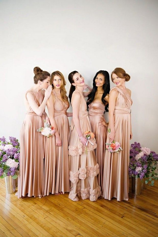 Best Multi Wrap Bridesmaid Dresses On The Market 2017