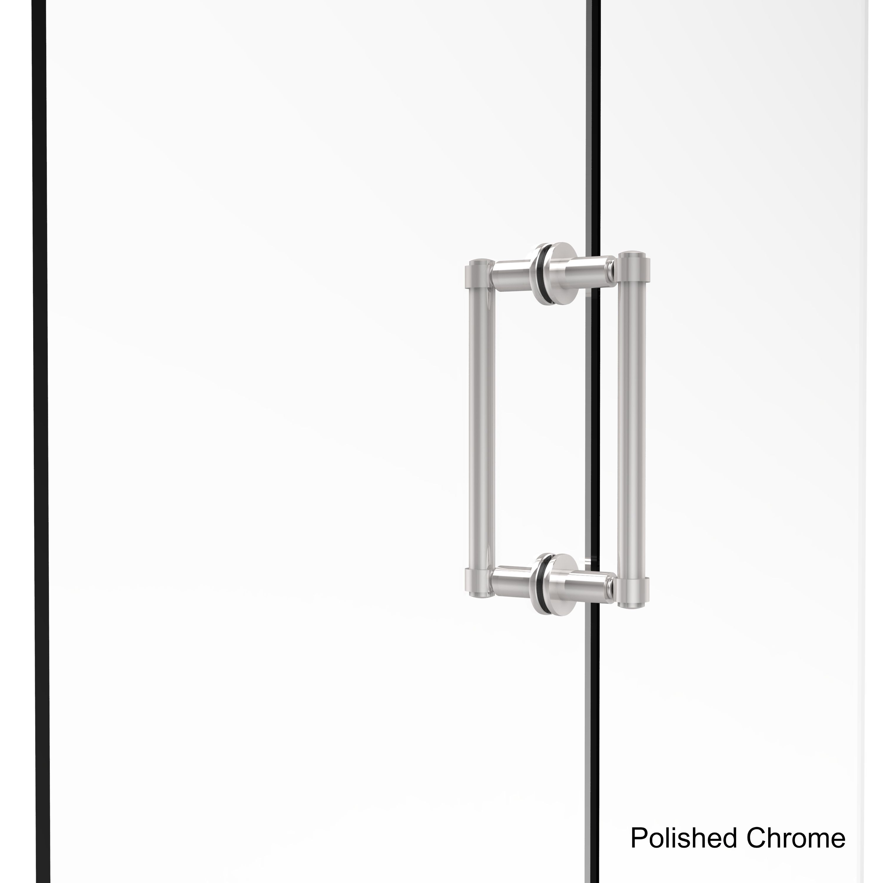 Allied Brass Contemporary 8 Inch Back To Back Brass Shower Door Pull