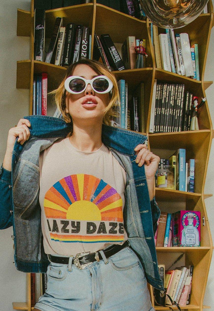 1e4713c6f6 Lazy Daze Elevado T-Shirt   Life Clothing Co   ASOS Marketplace ...