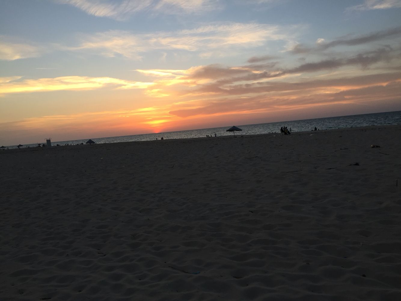 البحر والغروب Sunset Outdoor Celestial