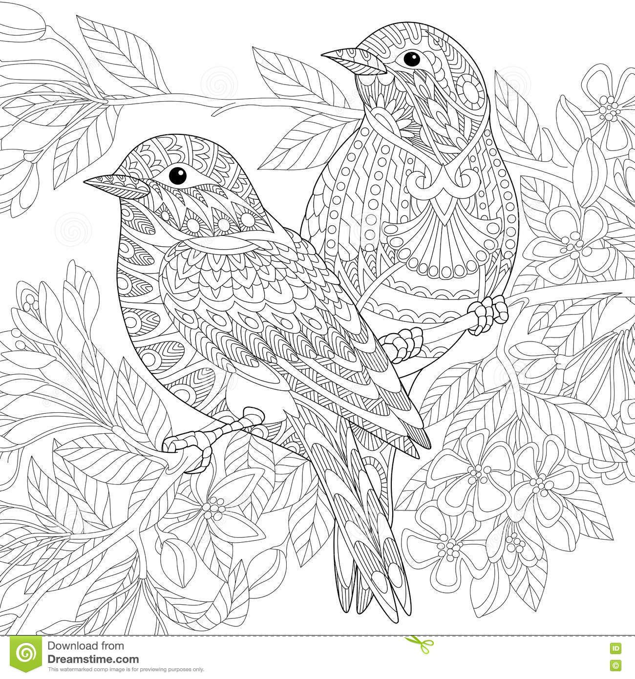 mandala coloring pages birds - photo#37