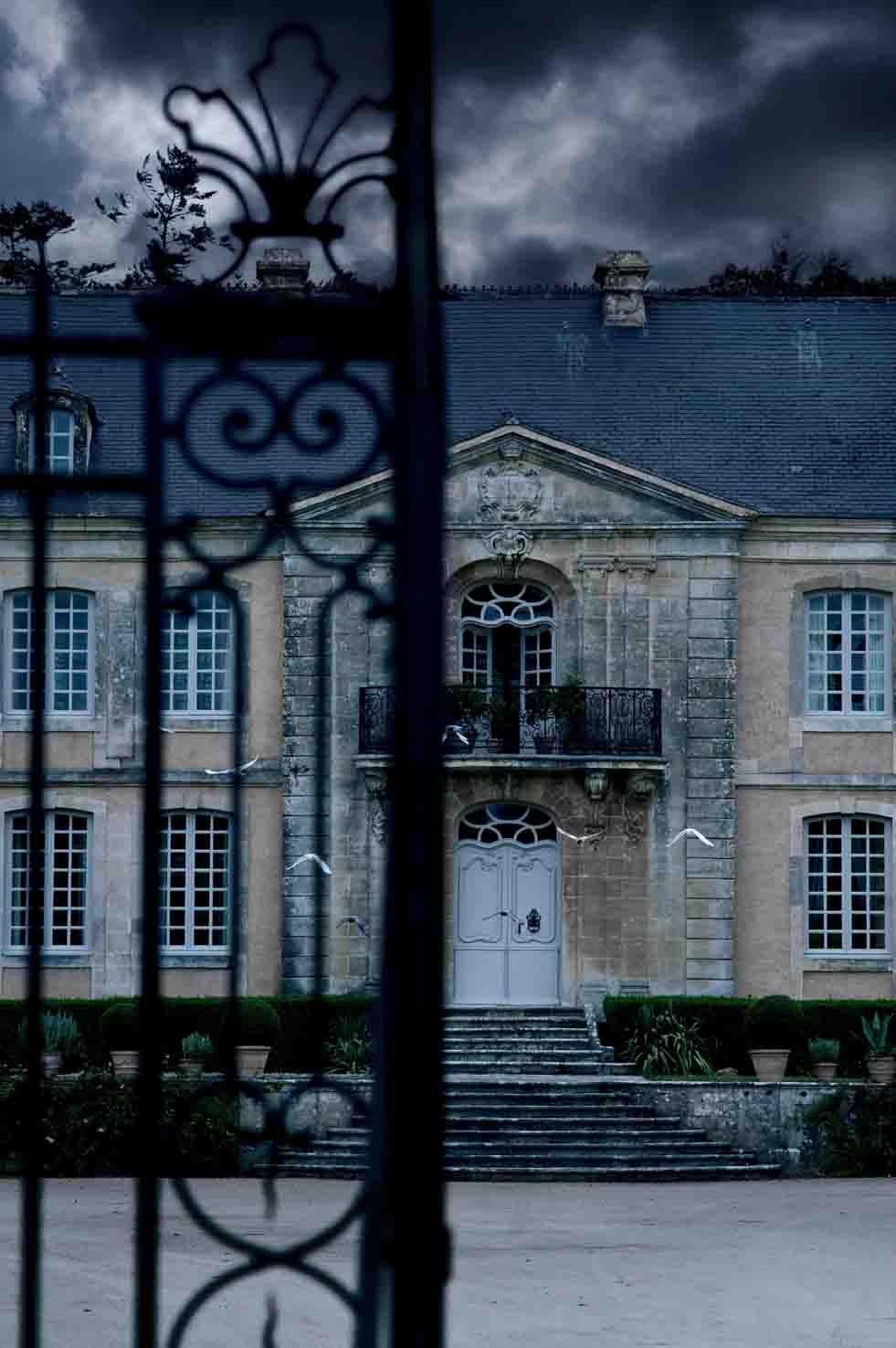 A French Photographer's Dream World: The Normandy of writer Jules Amedee Barbey d'Aurevilly. Images from various Chateau's & locations in Normandy by Paris-based photographer Vincent Thibert. -- the style saloniste