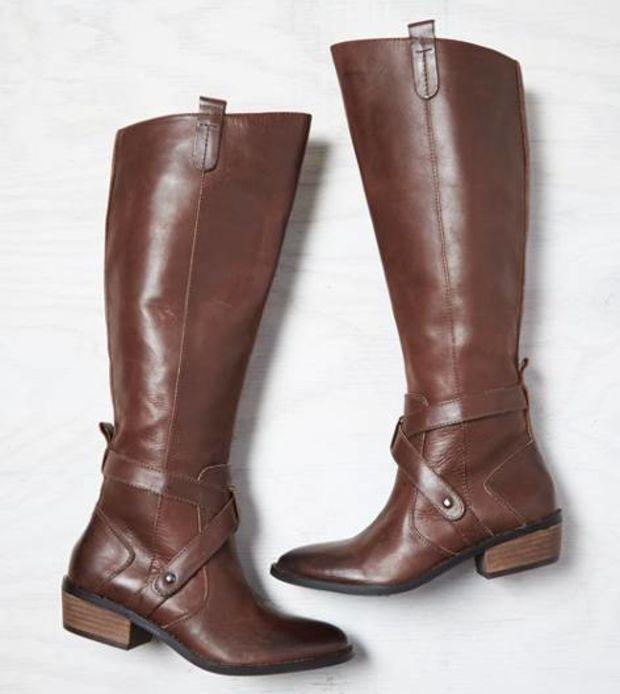 AEO Women's Dv By Dolce Vita Riding Boot (Dark Brown)