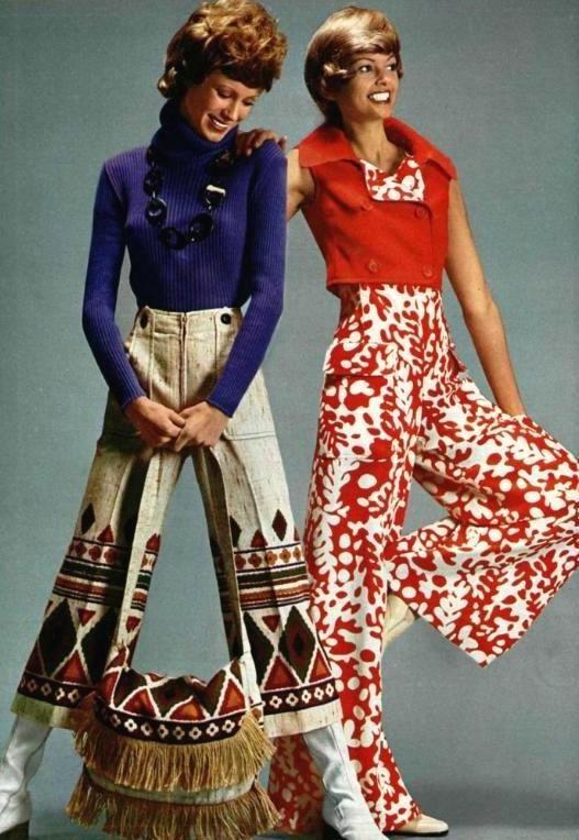 L 39 Officiel 1971 Ethnic Inspired Hippie Fashion Photo